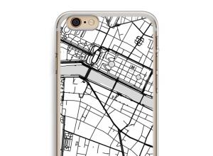 Zet een stadskaart op je  iPhone 6 PLUS / 6S PLUS hoesje