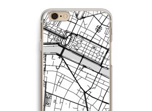Zet een stadskaart op je  iPhone 6 / 6S hoesje