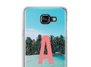 Maak zelf je Galaxy A5 (2016) hoesje met je monogram