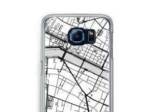 Zet een stadskaart op je  Galaxy S6 hoesje