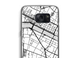 Zet een stadskaart op je  Galaxy S7 hoesje