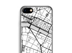 Zet een stadskaart op je  iPhone 7 hoesje