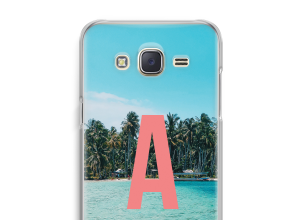 Maak zelf je Galaxy J5 (2015) hoesje met je monogram