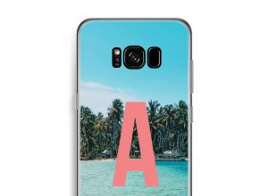 Maak zelf je Galaxy S8 Plus hoesje met je monogram