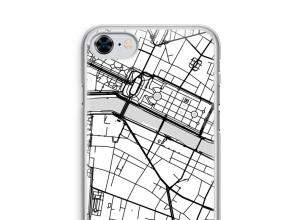 Zet een stadskaart op je  iPhone 8 hoesje