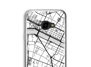 Zet een stadskaart op je  Galaxy XCover 4 hoesje