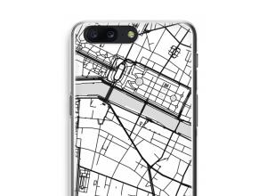 Zet een stadskaart op je  OnePlus 5 hoesje