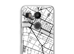 Zet een stadskaart op je  Nexus 5X hoesje