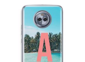 Maak zelf je Moto X4 hoesje met je monogram