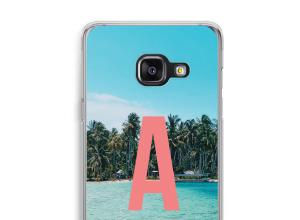 Maak zelf je Galaxy A3 (2016) hoesje met je monogram