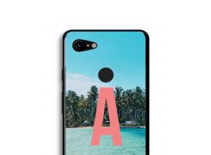 Maak zelf je Pixel 3 XL hoesje met je monogram