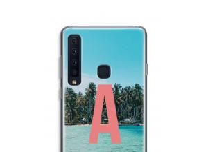 Maak zelf je Galaxy A9 (2018) hoesje met je monogram