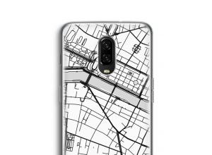 Zet een stadskaart op je  OnePlus 6T hoesje