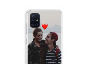 Ontwerp je eigen Galaxy A51 hoesje