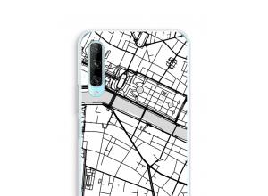 Zet een stadskaart op je  P Smart Pro hoesje