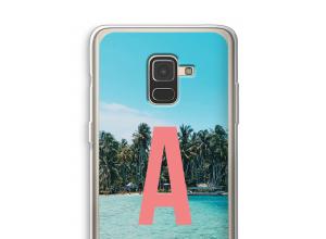 Maak zelf je Galaxy A8 (2018) hoesje met je monogram