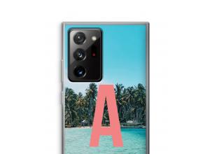 Maak zelf je Galaxy Note 20 Ultra / Note 20 Ultra 5G hoesje met je monogram