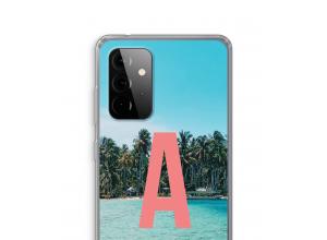 Maak zelf je Galaxy A72 5G hoesje met je monogram